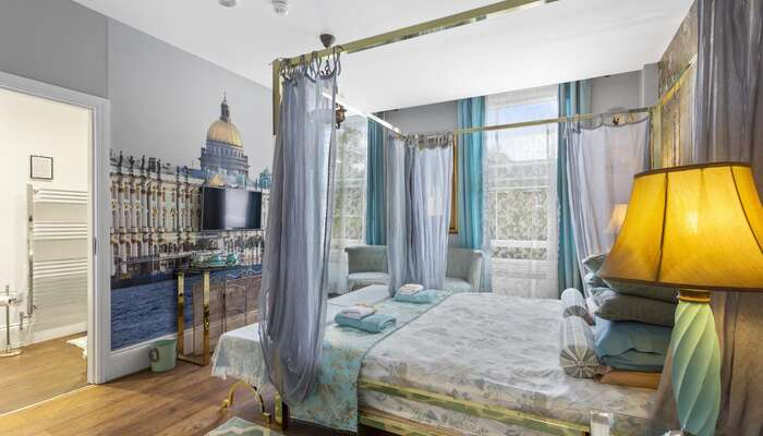 Superior Double Room With 4-Poster Bed St Petersburg * (2 Adults)