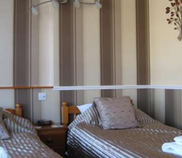 Twin Room Single Occupancy