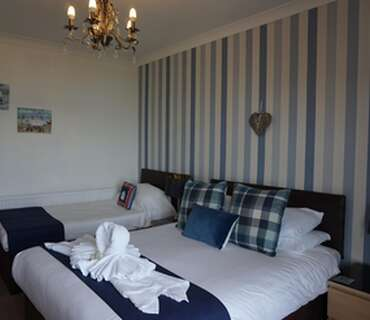 Superior Family Room With En-suite And Sea Views (inc. Breakfast)