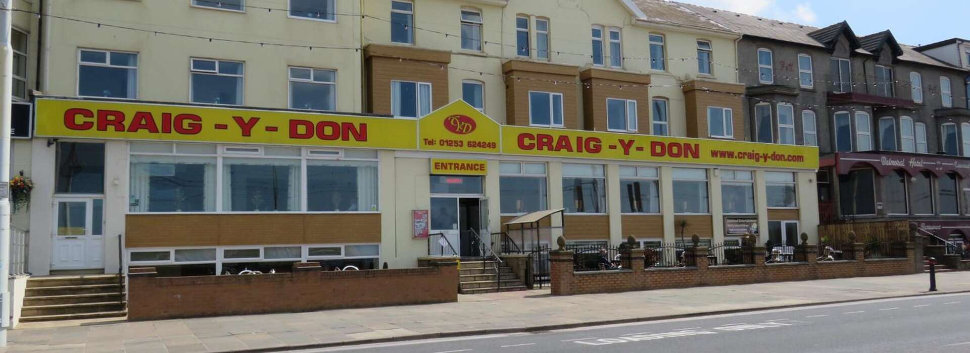 Home Craig Y Don Hotel Accommodation In Blackpool