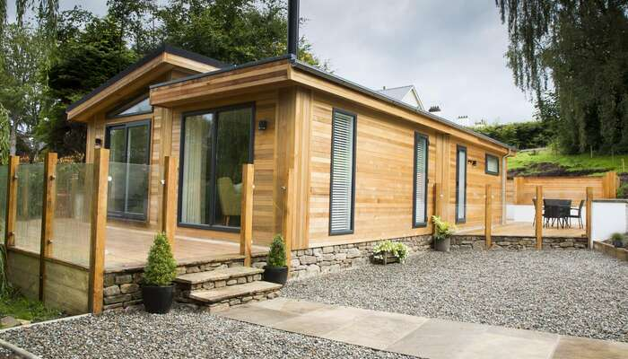 The Cedar Rooms two-bedroom Self Catering Garden Lodge