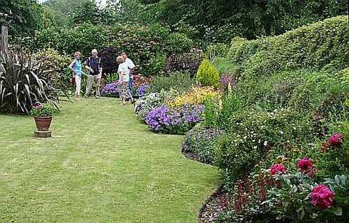 Check for date probably 13 June 2020 South Zeal Open Gardens