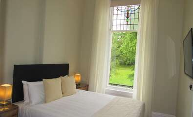 7.Double room with views of gardensPrivate locking bathroom for this room oly