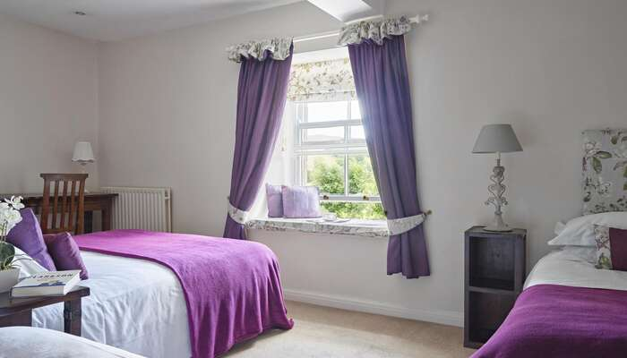 Family En-suite Room 1 x King Bed 2 x Single Beds (inc. Breakfast)