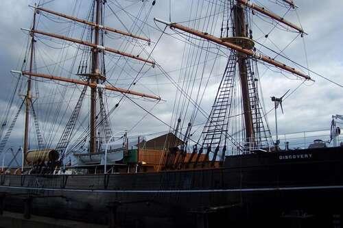 Ship ahoy! RRS Discovery