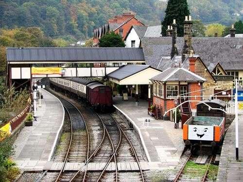 Llangollen Railway - 0.1 miles