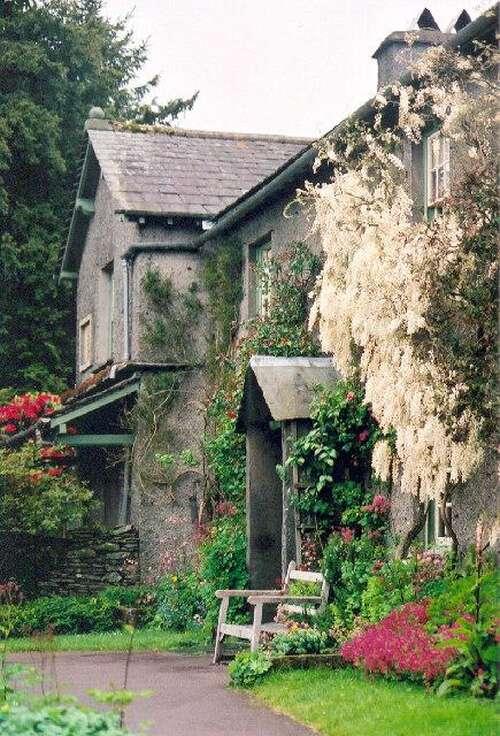 Hill Top.Former home of Beatrix Potter