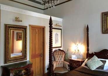 Room 1 - Superior En-suite King (four Poster, Park Views)