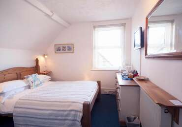 Double Room with South Downs View, second floor (inc. Cooked Breakfast and Buffet Table)