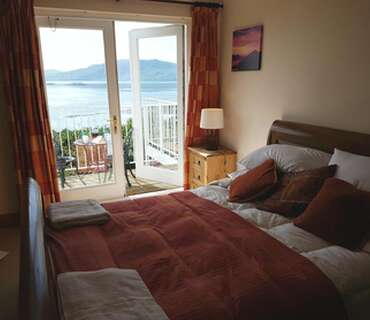 King Size En-suite With Full Sea Views