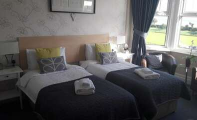 Sea View Twin Room En-suite With Balcony (2 adults)