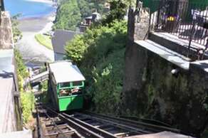 Lynton and Lynmouth Cliff Railway (0.25 mile)
