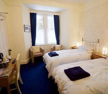 Ground Floor, Twin Beds, En-Suite (Room 1)